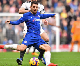Mateo Kovacic is unlikely to be able to stay at Chelsea. AFP