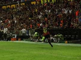 Mateus anotó el tanto del triunfo para Sport Recife. Sport Recife