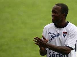 Mateus Galiano da Costa, 'Mateus', el futbolista que ha provocado que el Gil Vicente vuelva a Primera tras su descenso hace una década. Archivo/AFP/EFE