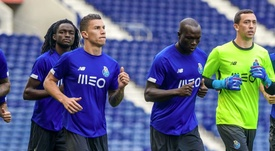 Mateus Uribe podría debutar en la Champions. FCPorto