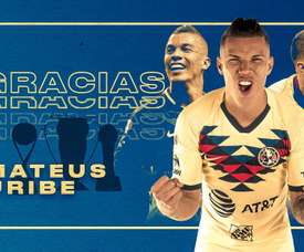 Uribe, bientôt à Porto.  Twitter/ClubAmerica
