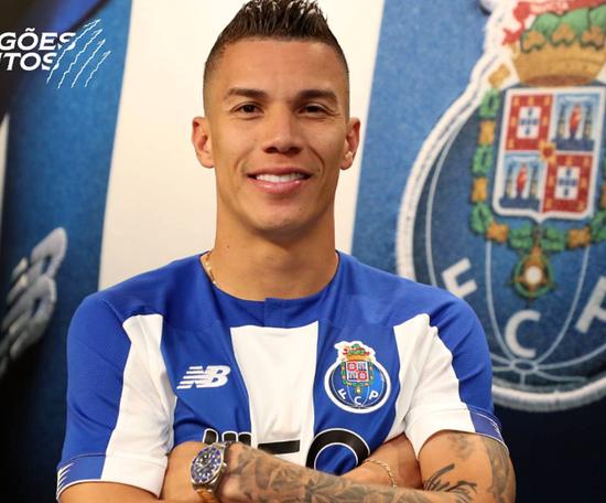 La clause XXL de Porto à Mateus Uribe. Twitter/FCPorto
