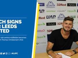 Mateusz Klich, nuevo jugador del Leeds United. LUFC