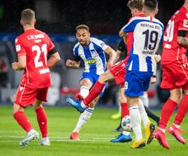 Hertha Berlin won 4-0. Twitter/HerthaBSC_ES