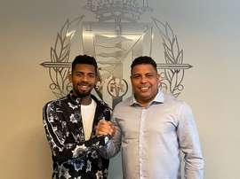 Matheus Fernandes, prêté au Real Valladolid. Twitter/Rrealvalladolid
