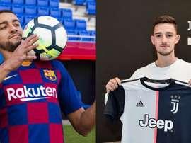 Matheus Pereira rejoint le Barça B. Barcelone/Juventus