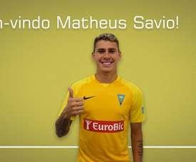 Internacional brasileiro sub-20 tem a sua primeira aventura na Europa, no clube português.Twiiter