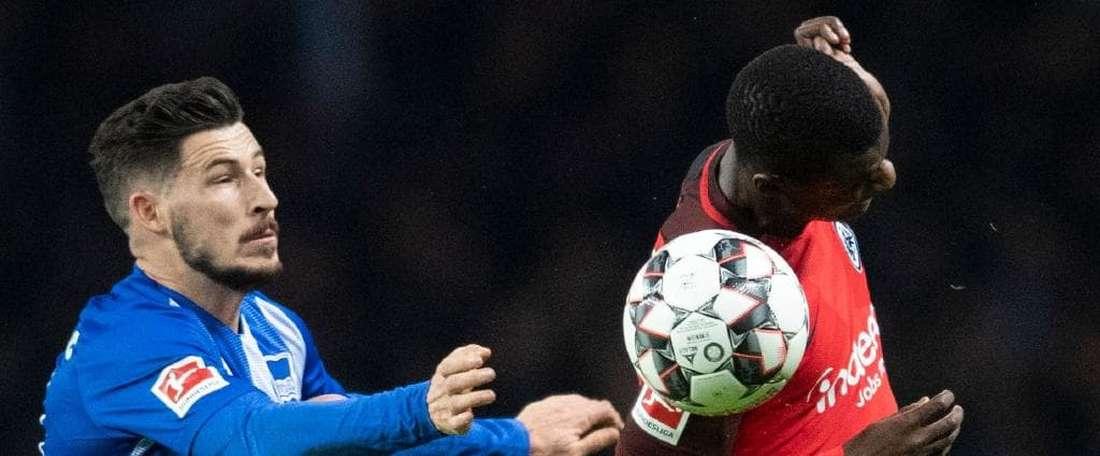 PSG have their eyes on N'Dicka. AFP