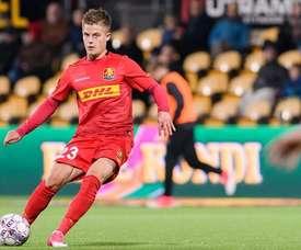 El futbolista danés, la elección de Antonio Mohamed para el centro del campo. EFE