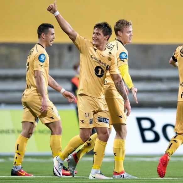 Normann made 42 appearances for Norwegian side FK Bodo/Glimt. Instagram
