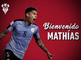 Mathias Olivera, cedido al Albacete. AlbaceteBPSAD