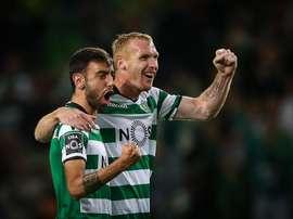 Mathieu a toujours sa place au Sporting. EFE