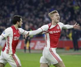 Matthijs De Ligt se rapproche de City. Twitter/Ajax