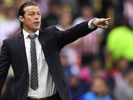 Almeyda estaría esperando una llamada de México para ser seleccionador. AFP