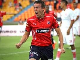 Matías Cahais cambia el Independiente de Medellín colombiano por el Veracruz mexicano. AFP/EFE