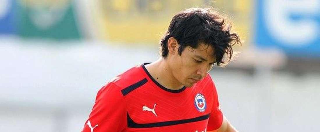 Mati Fernandez during a game. EFE