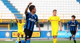 Matías Fonseca ha sido convocado por Antonio Conte. Twitter/Inter