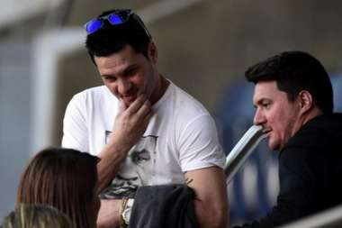 Leo Messi's brother. AFP