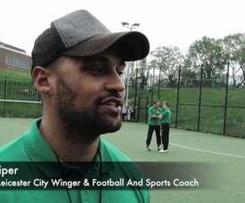 Triste histoire de l'ancien joueur de Leicester. Youtube/SoarTV