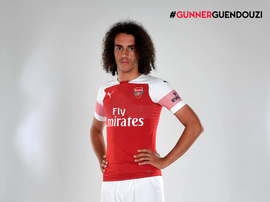 Guendouzi signed for Arsenal in July. ArsenalFC