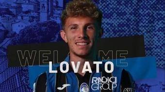 Matteo Lovato signe à l'Atalanta. Capture/Atalanta_BC