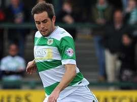 Matty Dolan marcó un auténtico golazo con el Yeovil Town ante el Walsall en la Capital One Cup. YTFC