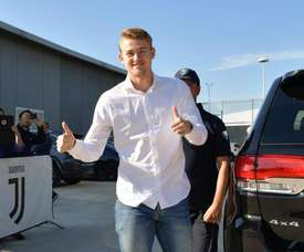 De Ligt explained why he turned down Barça. Twitter/JuventusFC