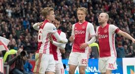 El Ajax desperdicia un 3-1 a favor. Ajax