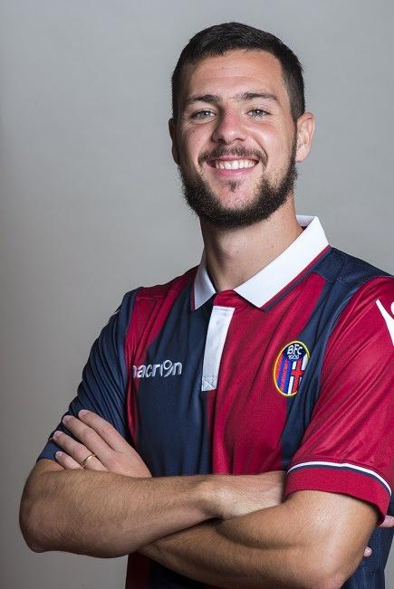 Mattia Destro, nuevo fichaje del Bolonia. BolognaFC