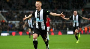 Matty Longstaff, Newcastle United's unexpected hero. Twitter/NUFC
