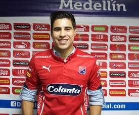 Mauricio Molina, nuevo jugador de Independiente de Medellín. Twitter