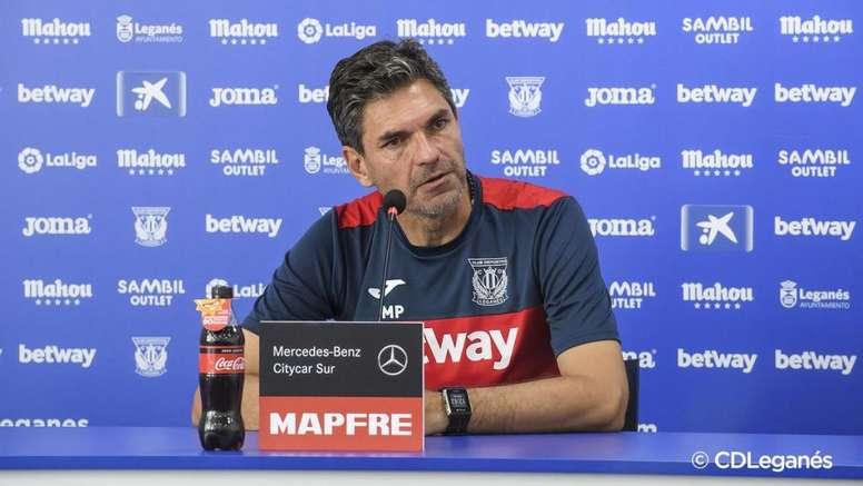 Pellegrino quedó contento con lo visto ante el Athletic. CDLeganés