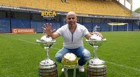 Mauricio Serna dejó claro su apoyo a Boca. BocaJuniors