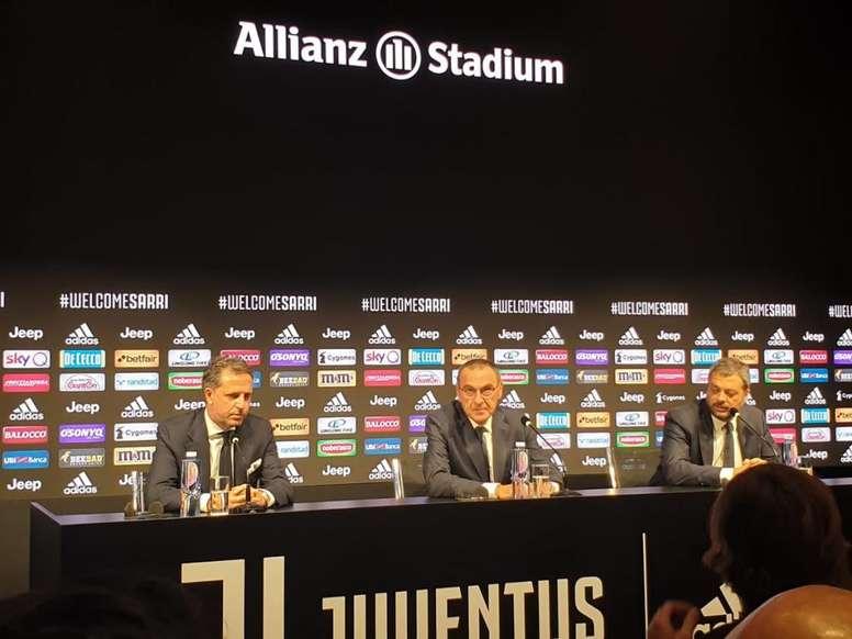 Annunciato lo staff di Sarri alla Juve. JuventusFC