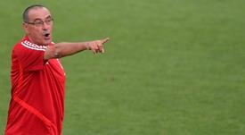 Sarri parle de la réaction de Dybala. Twitter/juventusfc