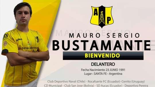Mauro Bustamate refuerza el ataque de Alianza Petrolera. AlianzaPetrolera