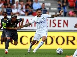 Icardi no pudo evitar la derrota del Inter. Twitter/Inter