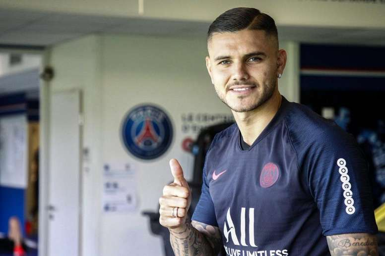 Icardi had been linked with a move to Napoli before going to PSG. GOAL