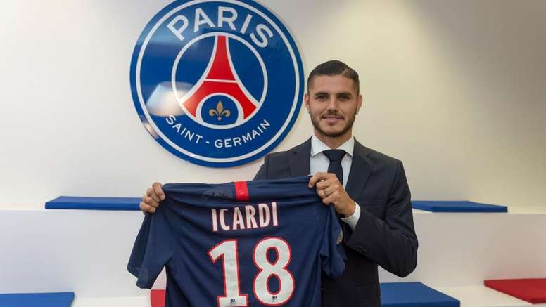 Mauro Icardi will spend the rest of the campaign at PSG. PSG