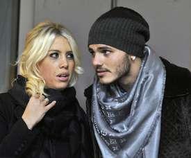 Wanda Nara garante que Icardi fica no Inter. EFE