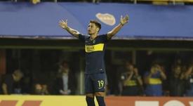 Zárate se ganó las críticas de la afición de Vélez. Boca