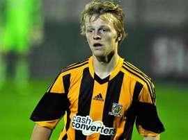 Max Clark, jugador del Cambridge United. Cambridge United