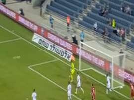 Liechtenstein anotó su único gol de la fase de clasificación ante Israel. Youtube