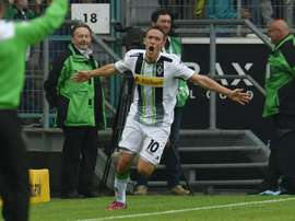 Max Kruse, pictured in action on April 26, 2015, has been lured to Wolfsburg in the quest for more silverware after Wolves won the German Cup last season