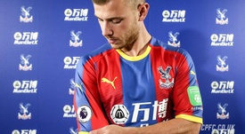 Meyer joined Crystal Palace in August. CrystalPalace