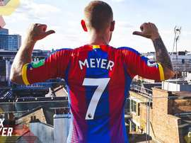 Meyer has signed a three-year deal at Selhurst Park. CPFC