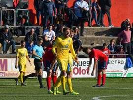 El Orihuela confía en plantar cara al Villarreal B. Twitter/Orihuela_CF