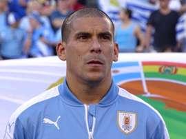 Maxi Pereira, convocado para a seleção do Uruguai. Uruguay