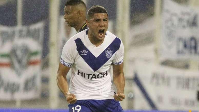 Maxi Romero es el actual máximo goleador de la Superliga. Captura
