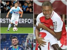 Maxime Lopez, Tousart et Mbappe. BeSoccer